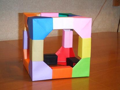 ハート 折り紙 折り紙 立方体 折り方 : e-zunou.com